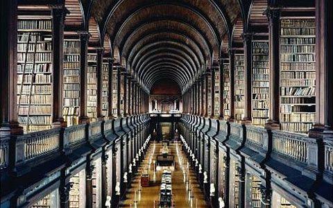 Candida Hofer, Trinity Library Dublin