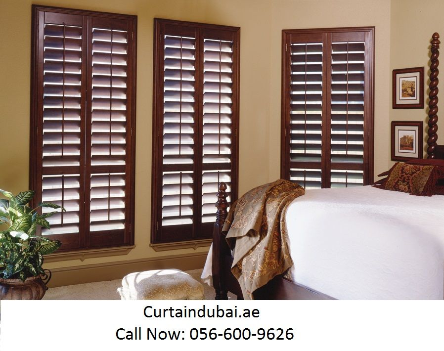 Curtaindubai Offers High Quality Shutters Within The Budget In Abu Dhabi Dubai Al Satwa And All Over The Dubai Window Treatments Bedroom Home Decor Blinds Ain wooden window room window