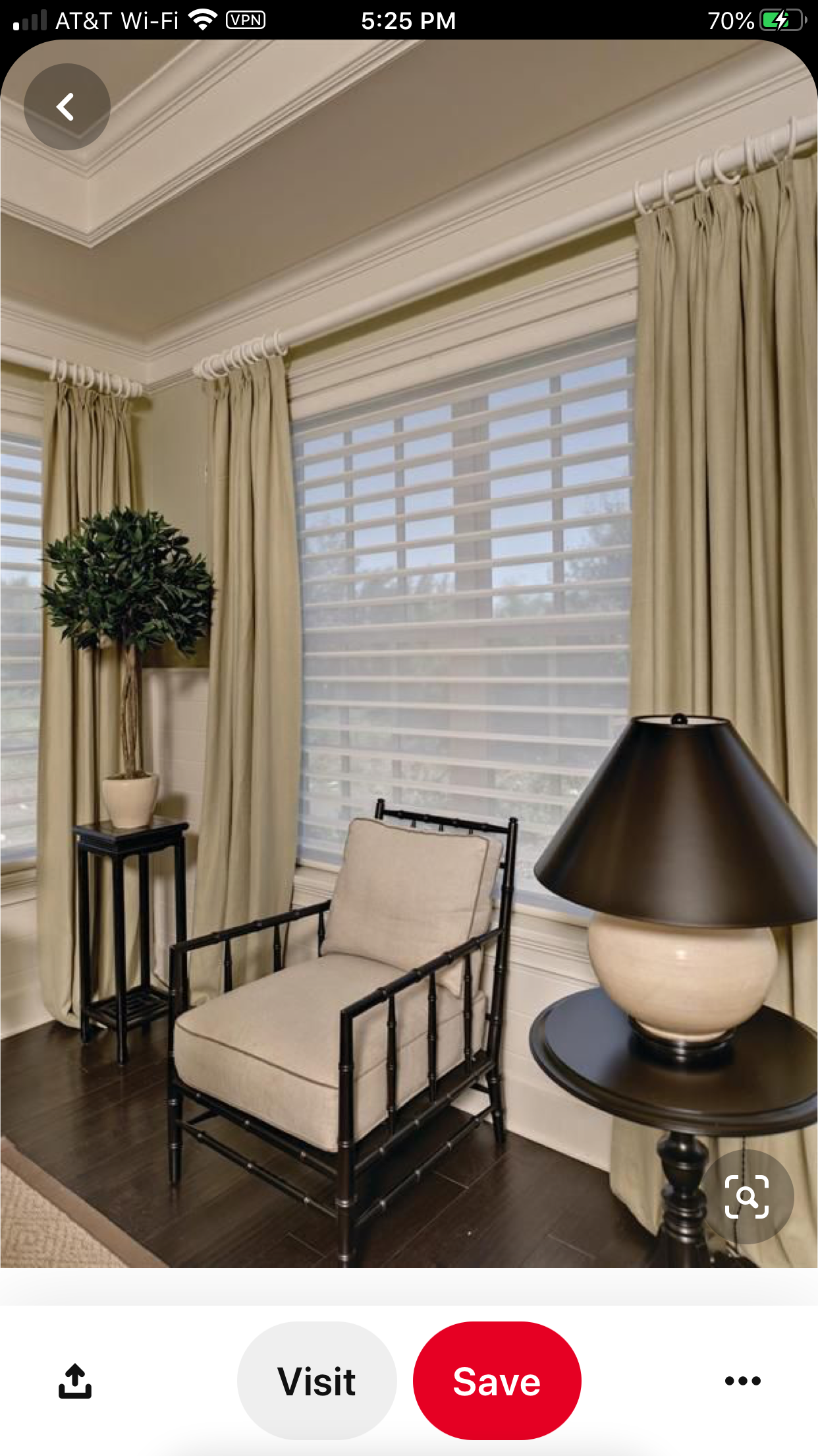 Pin By Interiors By Tracy Lee On Client Pat Ucci Bedroom Curtains With Blinds Curtains With Blinds Living Room Windows