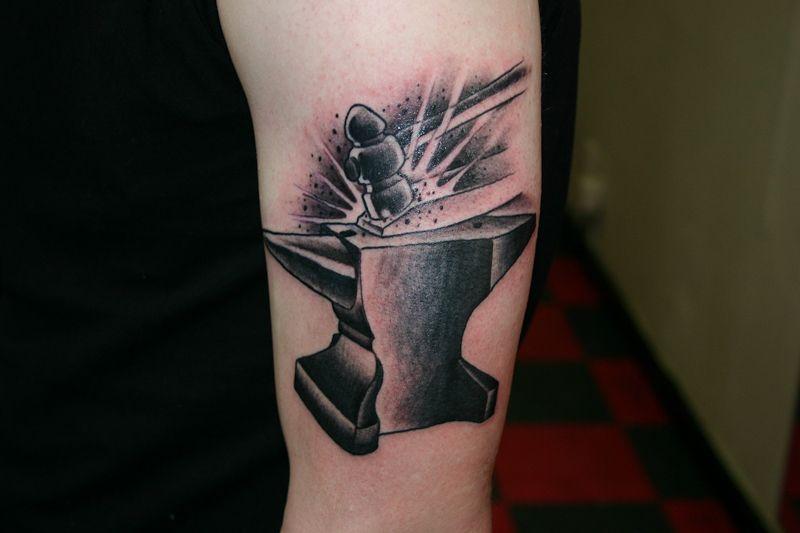 anvil tattoo google search ink pinterest best google search tattoo and tattos ideas. Black Bedroom Furniture Sets. Home Design Ideas