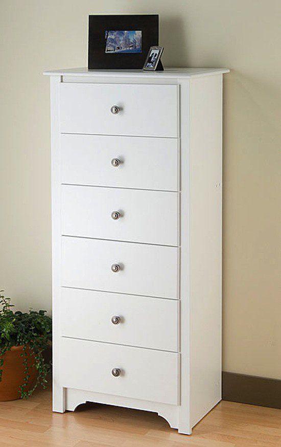 A Condensed Nursery For Close Quarters Skinny Dresser White