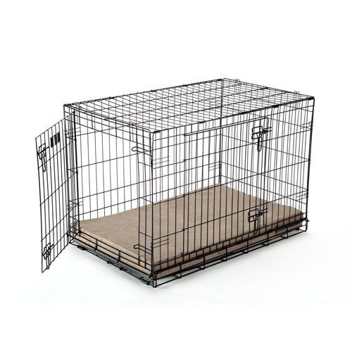 Memory Foam Dog Crate Pads By Buddy Beds Supporting Foam And