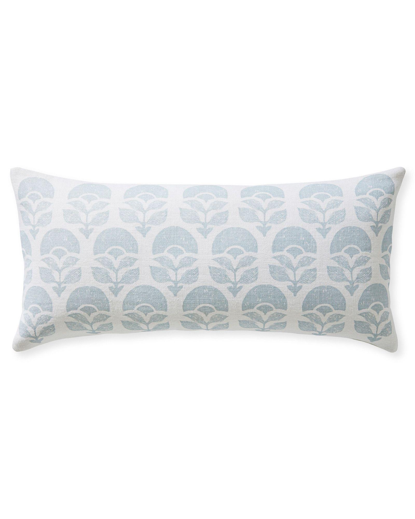 24X24 Pillow Insert Larkspur Printed Pillow Coverlarkspur Printed Pillow Cover  1588