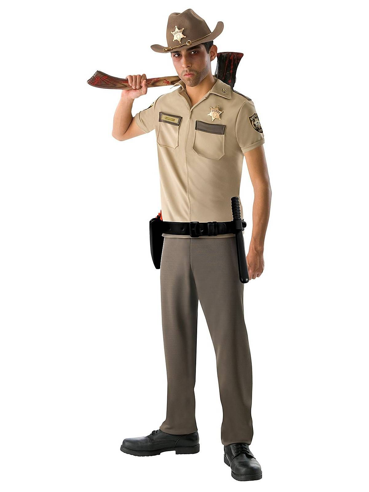 Rick Grimes Costume | Teen The Walking Dead Costumes - CHECK OUT our Top 10 Halloween Costumes for 2014: http://www.kickshawinc.com/top-10-halloween-costumes-2014/