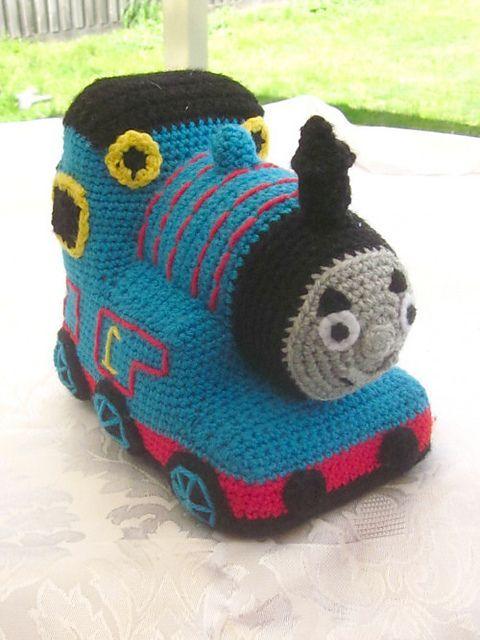 crochet thomas the train | Ravelry: BebeRouge\'s Thomas the Tank ...