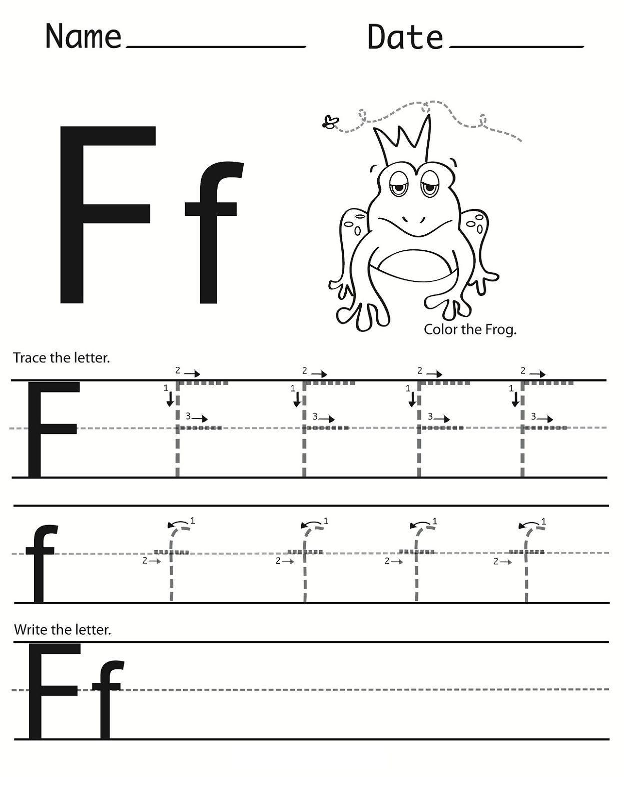 letter f worksheets for preschool give our beloved these letter f worksheet for 25016