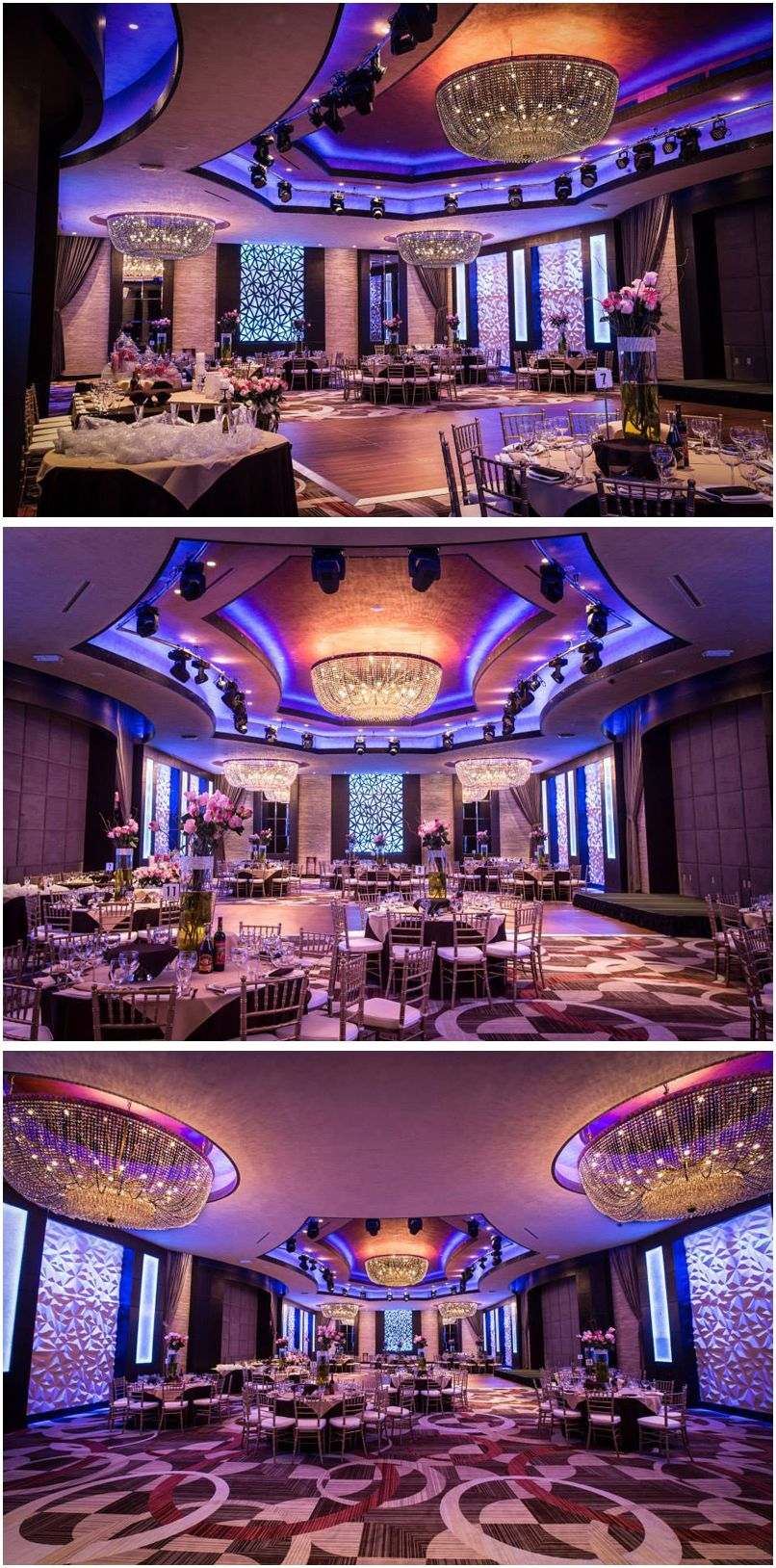 The Modern Space Inside The New Fabrizio Banquet Hall In