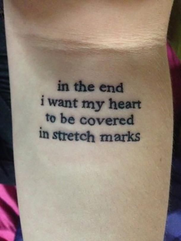16 Stunning Stretch Mark Tattoos That Will Make You Love Your Body
