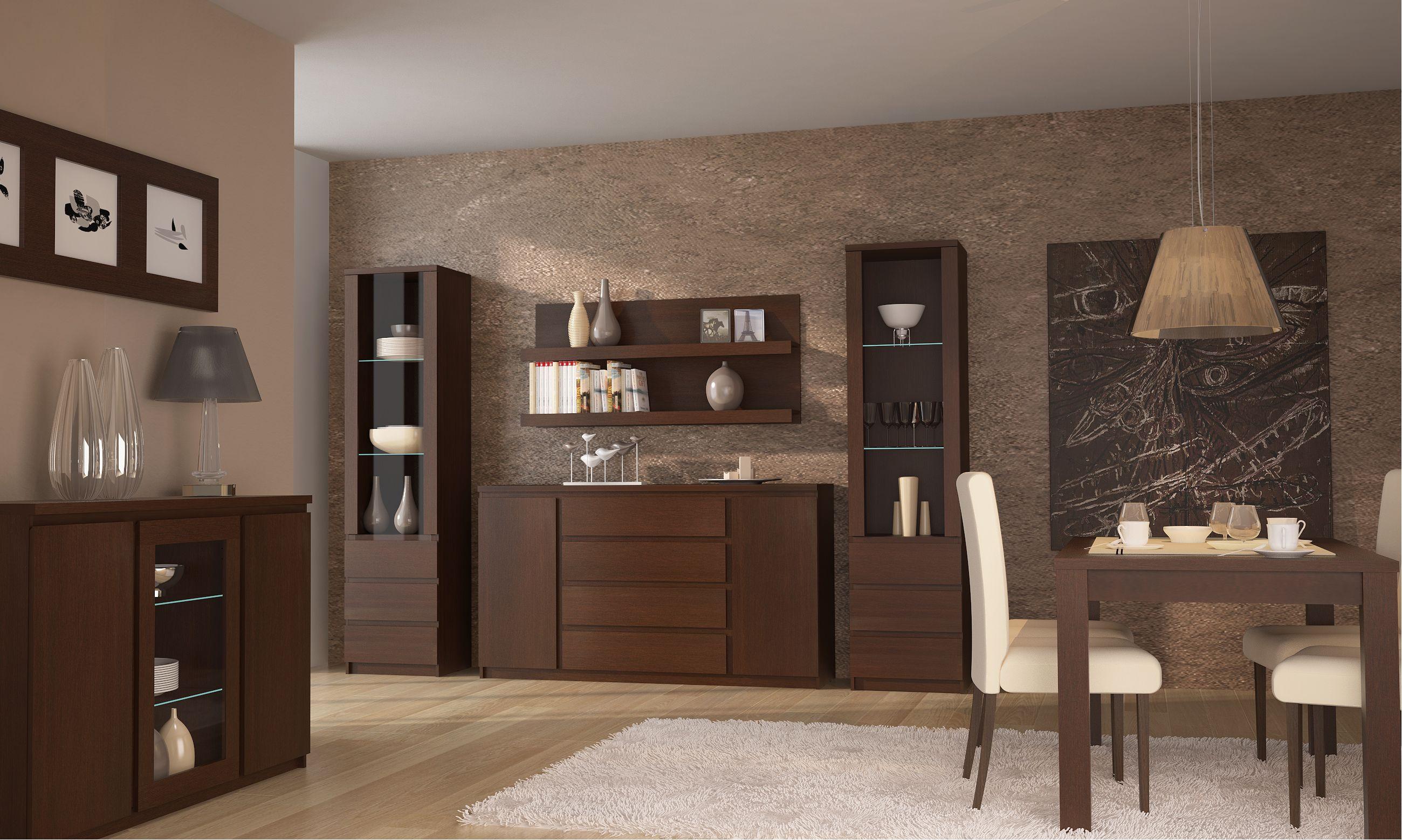 Pello 1 - oak entertainment center in 2020 | Living room ...