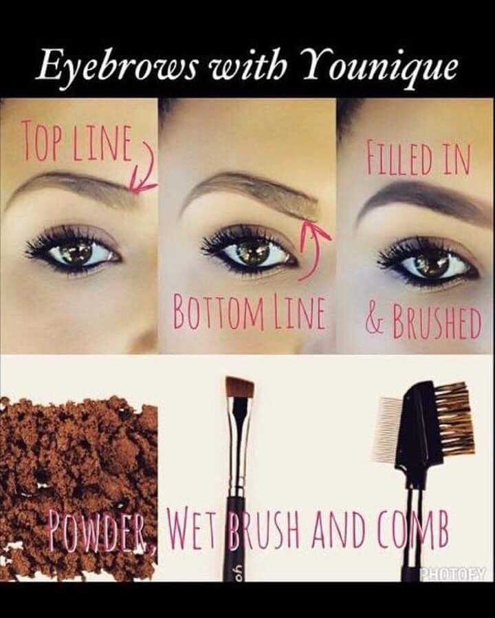 Let me help you arch your brows! Picking the right color, shade, and search are KEY! Not sure what you purchase? Ask me! I'll help you out! ⬇️  http://www.youniqueproducts.com/jordanlynne/party/4668425/view