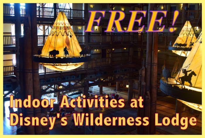 free activties at Disney's Wilderness Lodge