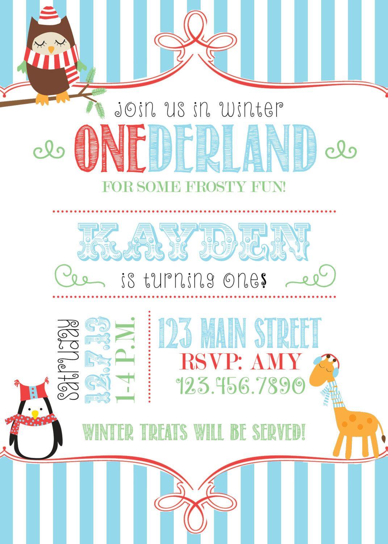 Winter Onederland | Kymbers 1st Birthday | Pinterest | Winter ...