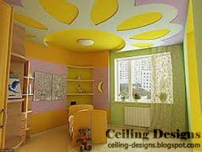 stretch false ceiling designs kids room | Ceiling design ...