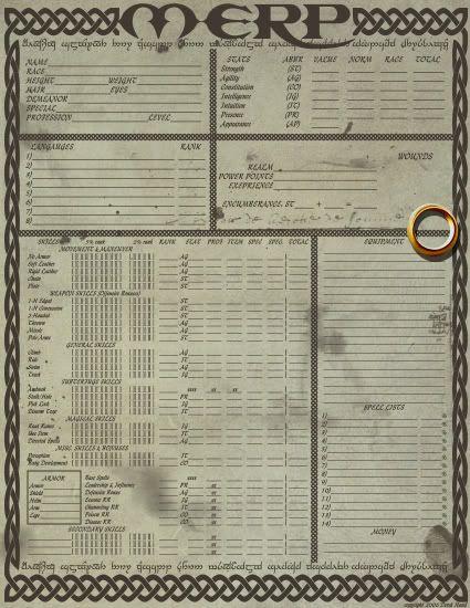 merp character sheet