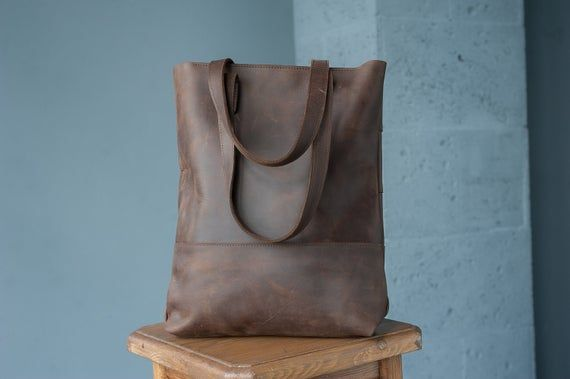 Leather totesWork bagTote bagBrown leather toteCustom tote bagBrown leather tote bagMonogram computer bagLadies computer bag gift Leather totesWork bagTote bagBrown leath...