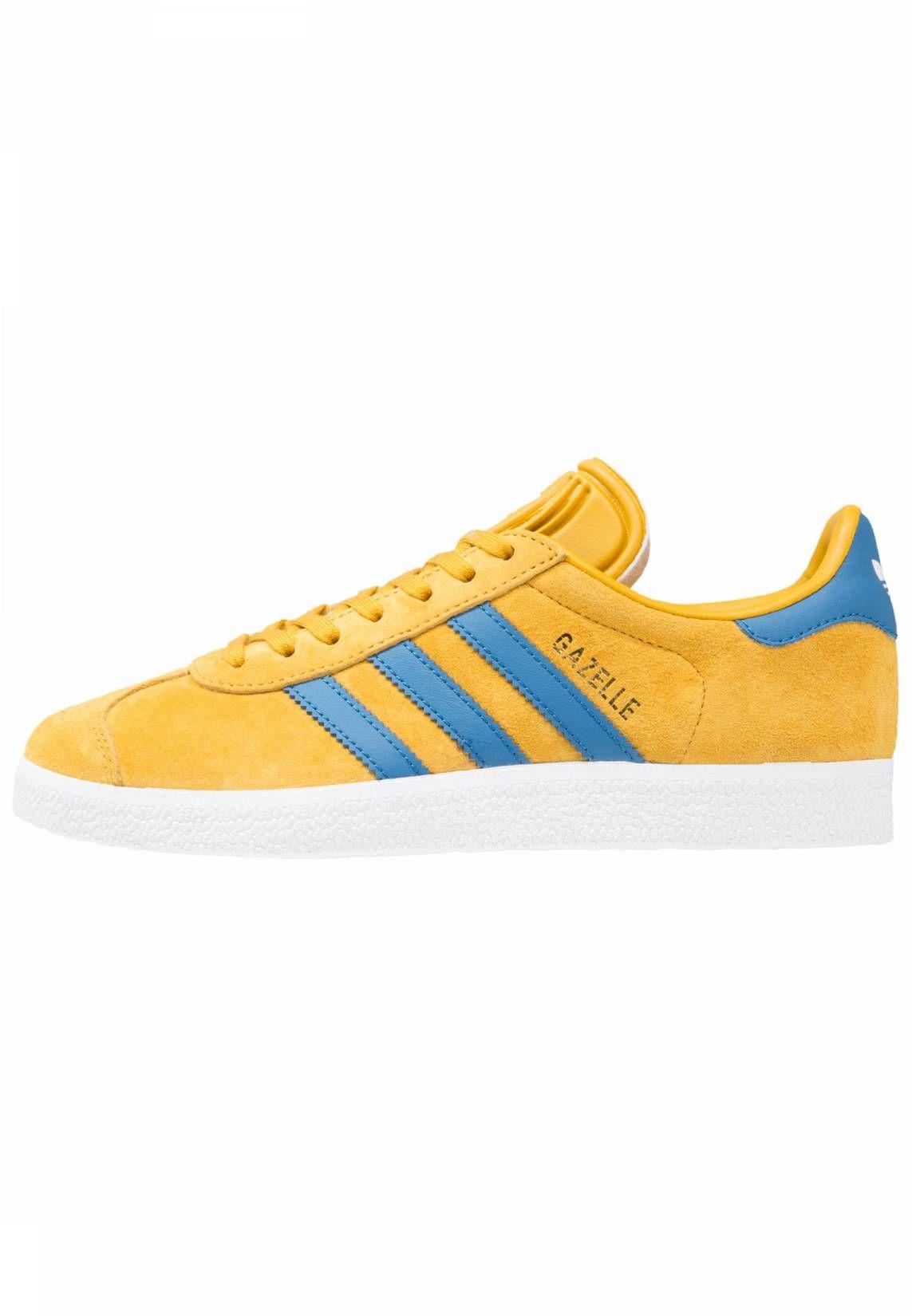 adidas Originals. GAZELLE Trainers yellowcore blue
