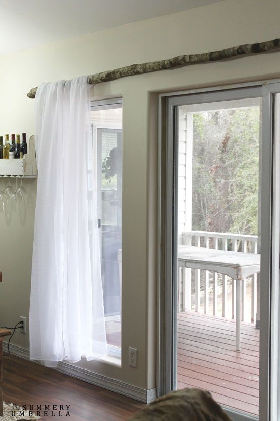 branch curtain rods diy curtain rods
