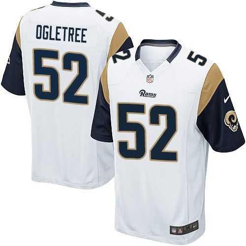 Nike Limited Alec Ogletree White Youth Jersey - Los Angeles Rams  52 NFL  Road 933d8ca4324