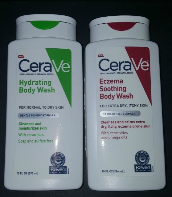 Skincare Review Ingredients Cerave Hydrating Eczema Soothing Body Wash For Dry Itchy Skin Itchy Dry Hydrating Body Wash