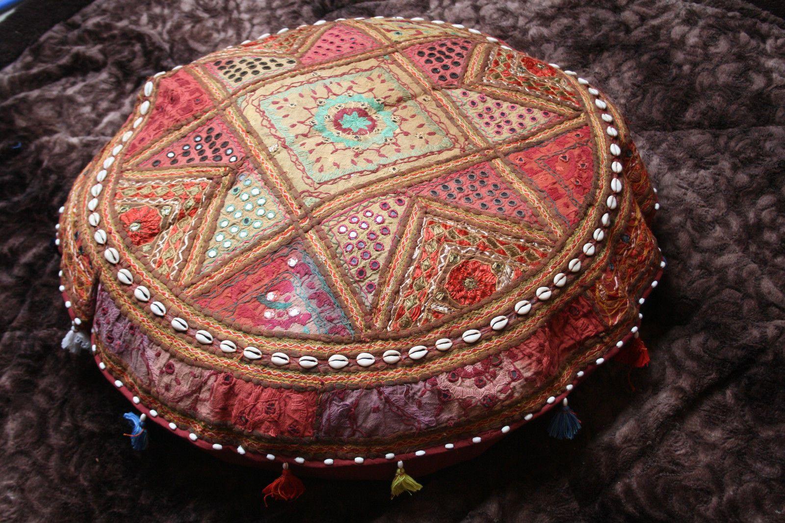 Patchwork Bodenkissen XXL Kissenhülle Indien Bunt Dekokissen Ethno NEU | eBay