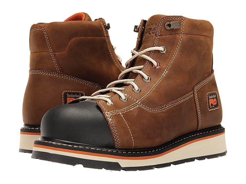 Soft Toe Boot Men's Work Boots Brown
