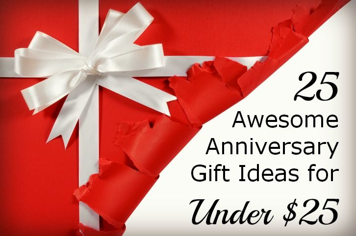 25 Awesome Anniversary Gift Ideas For Under Dollars