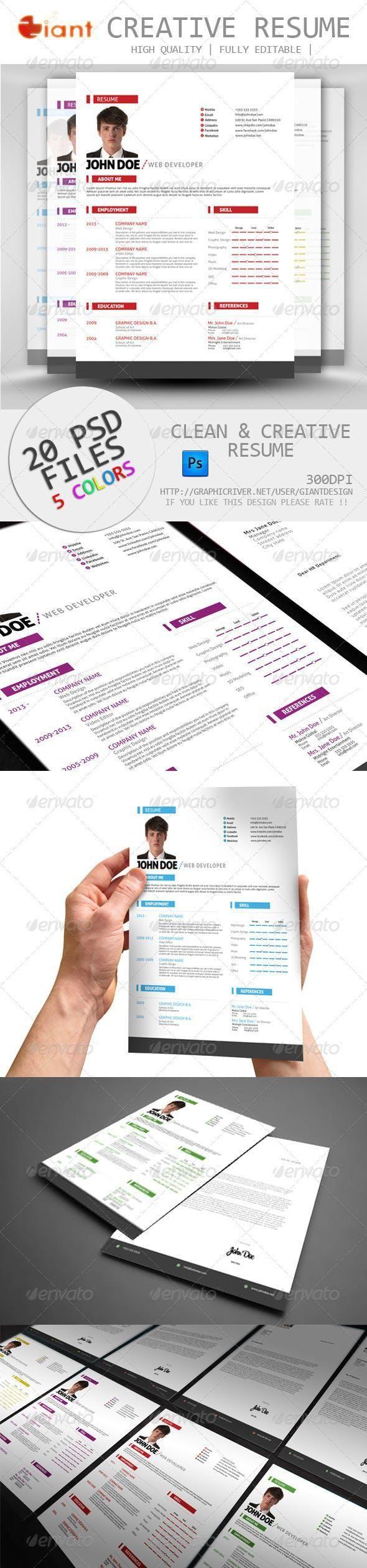 Simple Resume CV Cover Letter   Cv cover letter, Simple ...