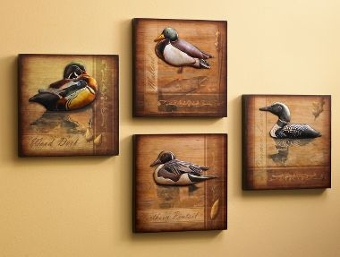 We Have Duck Statues Like This In The Living Room Hunting Room Decor Duck Decor Hunting Decor