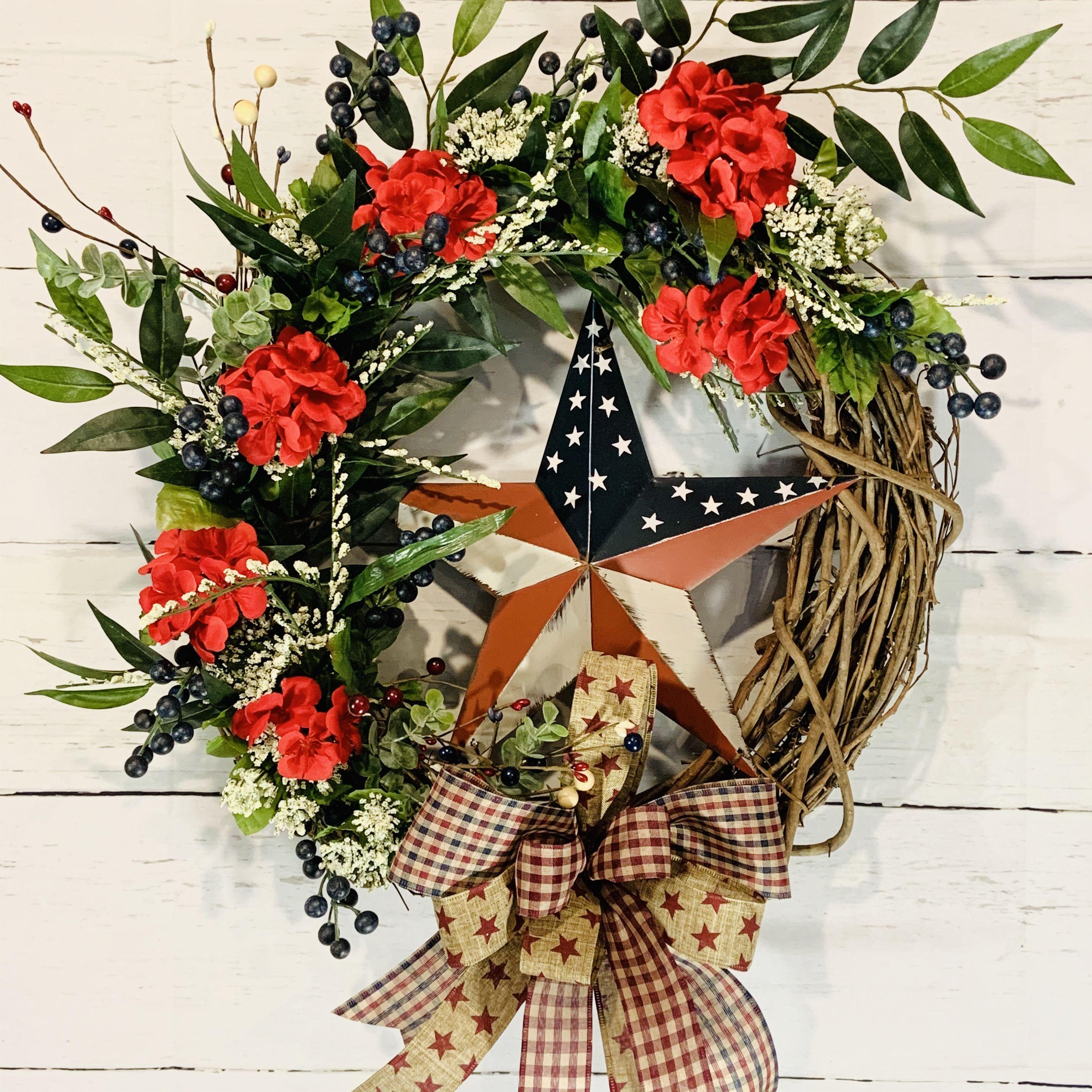 Photo of Primitive grapevine wreath