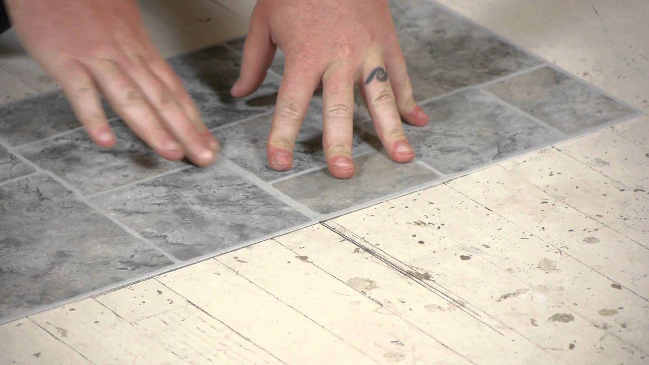 How to Lay Vinyl Tiles on Top of Old Flooring Flooring