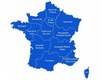 Destination Les Regions De France Nouvelles Regions Francaises