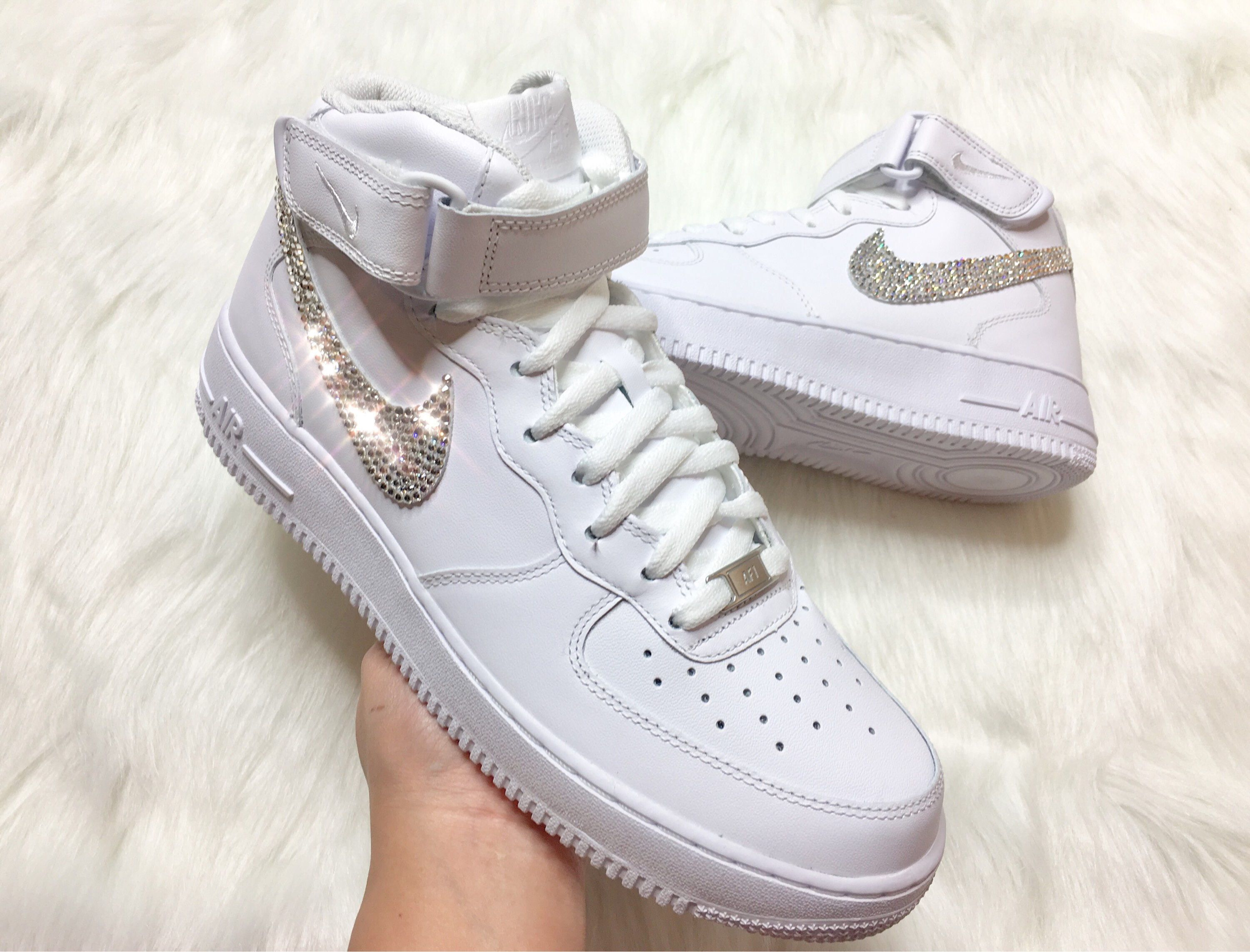 f28cf76a5e58e Pin by violetspinkboutique on Swarovski Customs in 2019 | Nike air ...