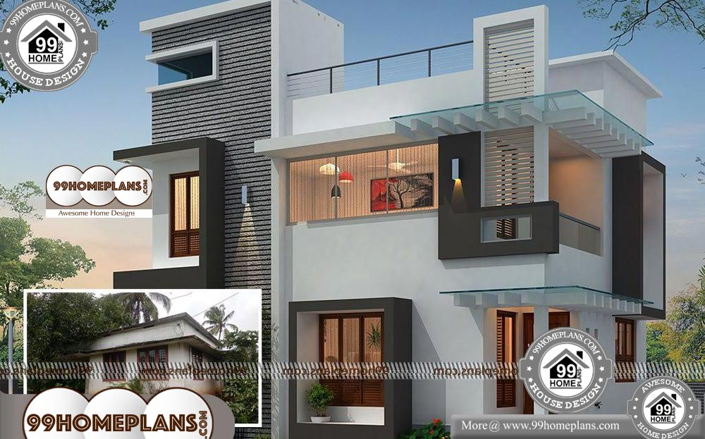 New Contemporary House Designs 90 Two Storey Villa Design Plans Contemporary House Design Modern Contemporary House Plans Contemporary House Plans