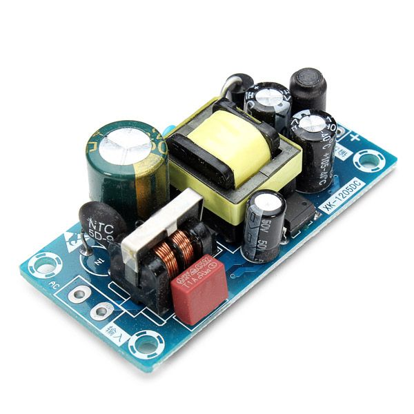 [US$17.40] 5Pcs 12V 1A Low Ripple Switching Power Supply Board