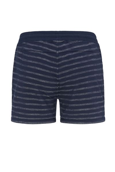 Photo of recolution Basic Sweat Shorts #Stripes Blue