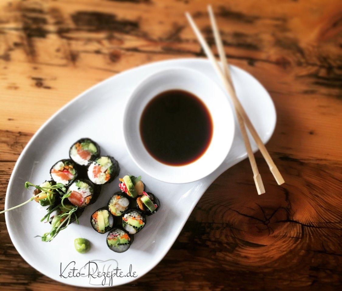 Sushi Muss Nicht Unbedingt Reis Oder Gar Einen Reisersatz