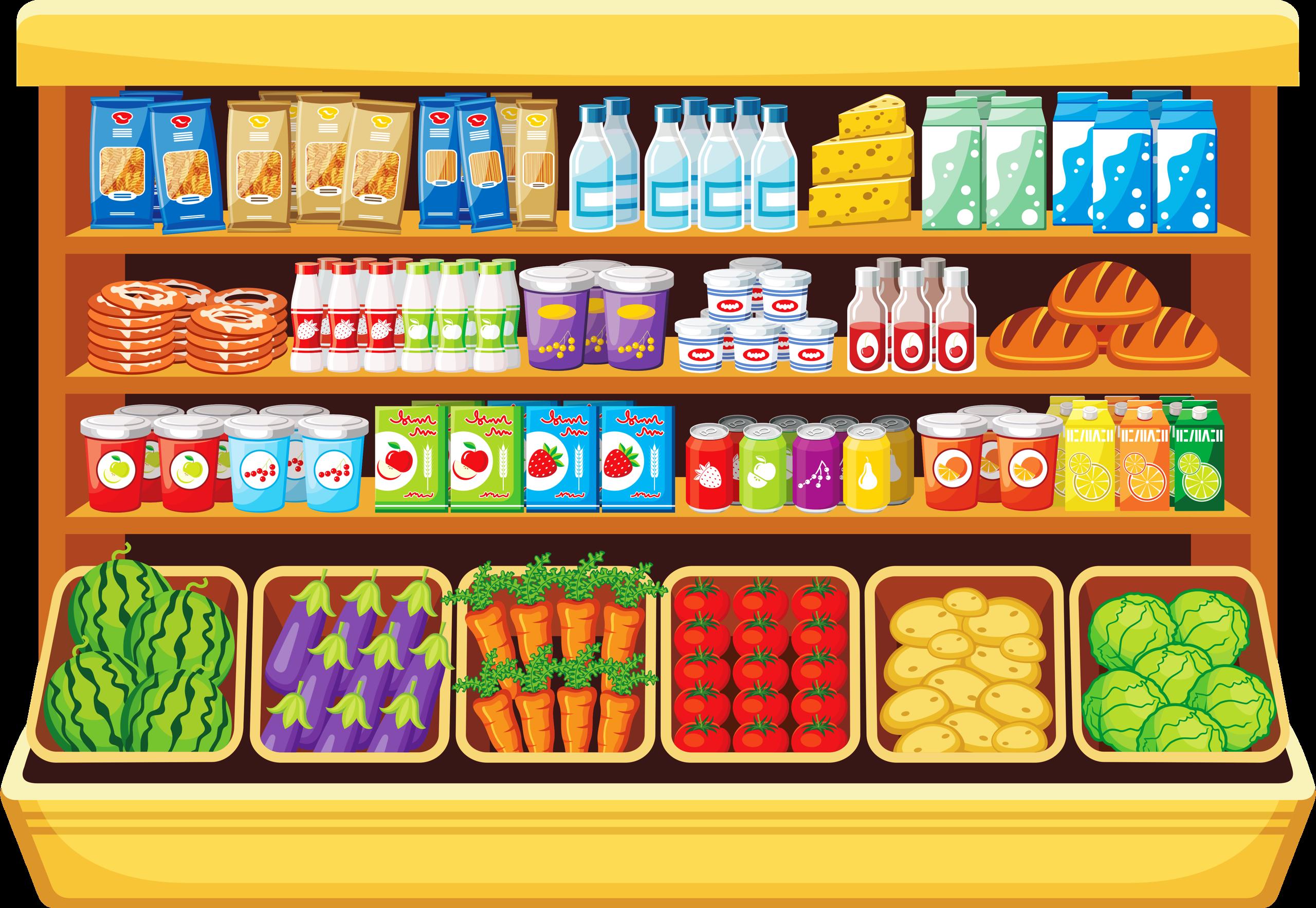 Магазины продуктов картинки для детей