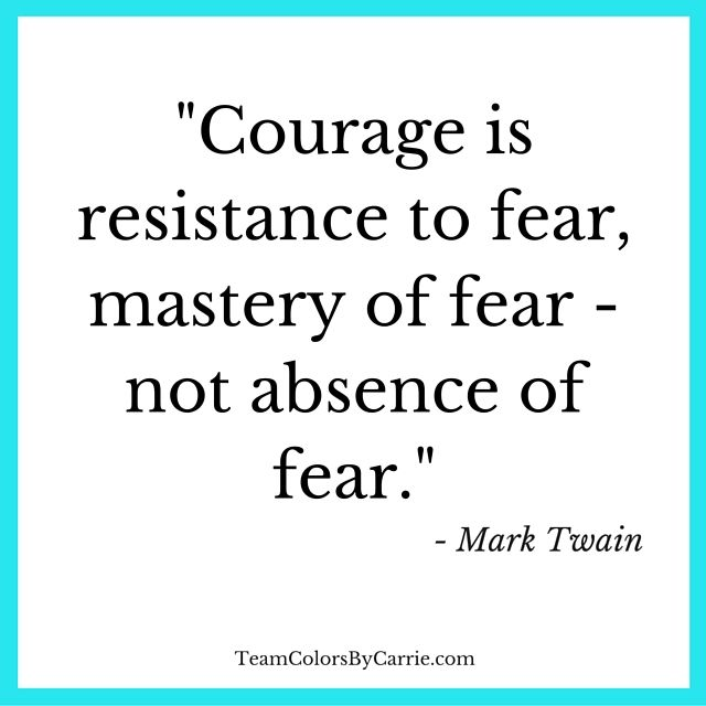 Mark Twain on #Courage Inspirational Quotes Pinterest Mark - absence note