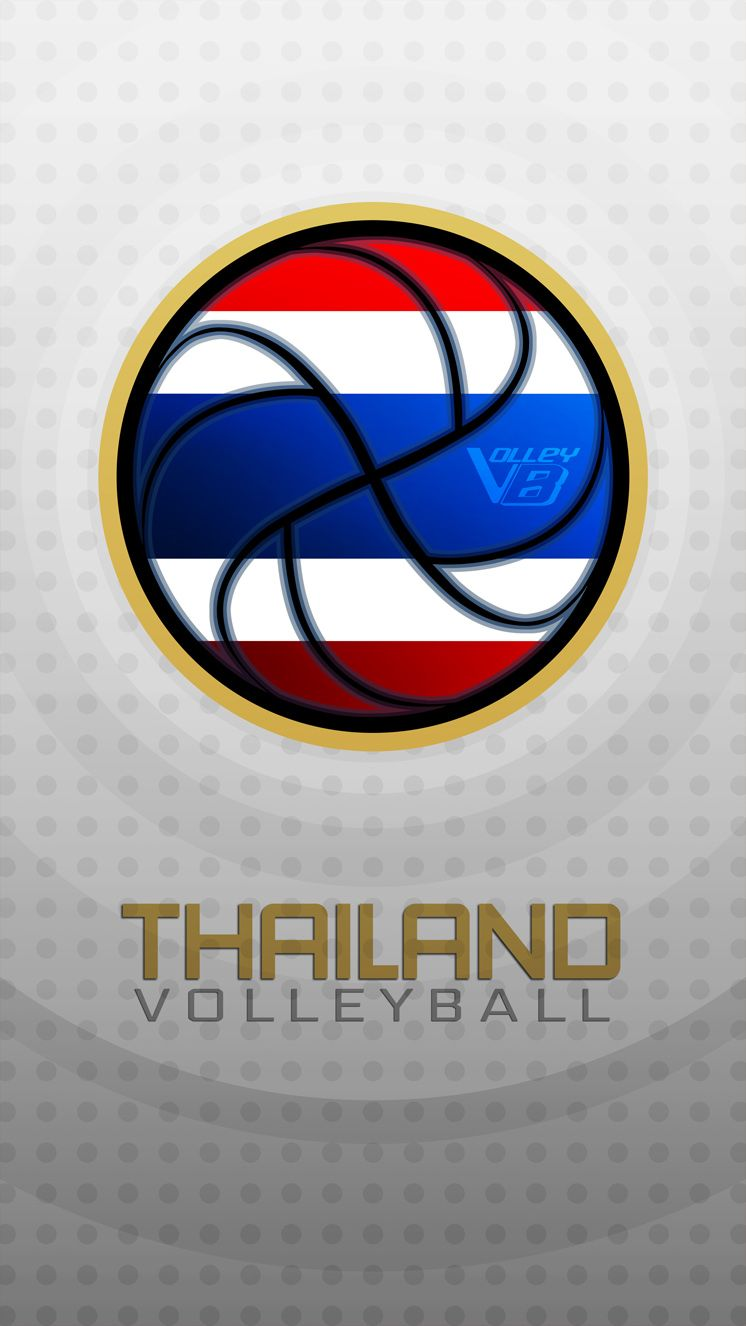 Thailand 02 Volleyball Mobile Wallpaper Volleyball Pictures Retail Logos Mobile Wallpaper