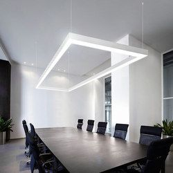 General lighting linear lights suspended lights xp2040 for Interior design lighting uk