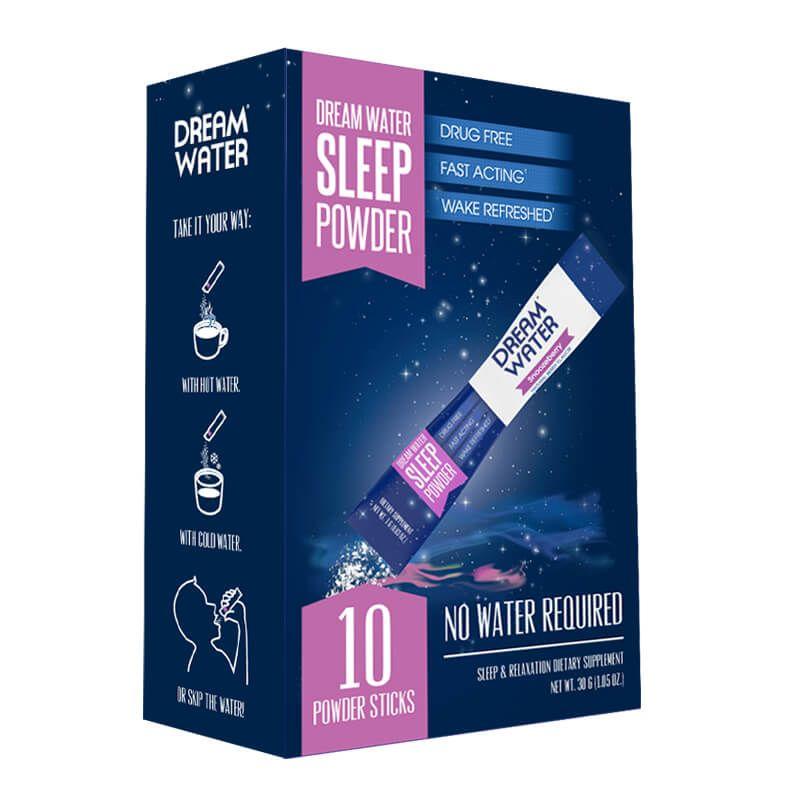 Dream Water – Work Hard. Play Hard. Sleep Easy.
