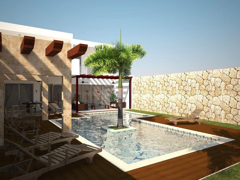 Resultado De Imagen Para Diseños De Terrazas Techadas En