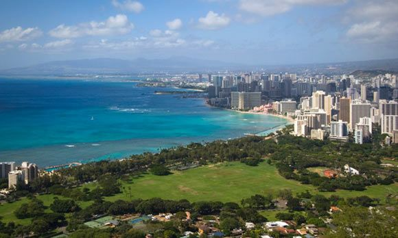 States with the most millionaires: Hawaii (© Driendl Group / Photodisc / Getty Images)