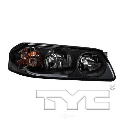 Tyc Headlight Assembly 2004 2005 Chevrolet Impala 3 4l 3 8l 2005 Chevrolet Impala Chevrolet Impala Headlight Assembly