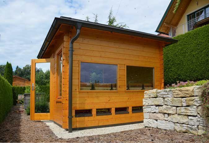 5 Eck Gartenhaus Victor B 44 Iso Als Bienenhaus