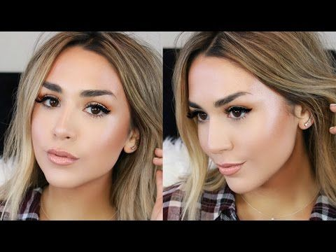Glowing Dewy Foundation Routine | Dry Winter Skin Fix! - YouTube | Alexandrea Garza