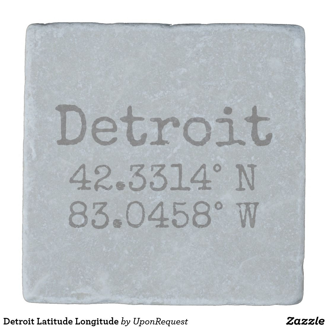 detroit latitude longitude stone coaster zazzle com latitude and longitude map stone coasters latitude longitude pinterest