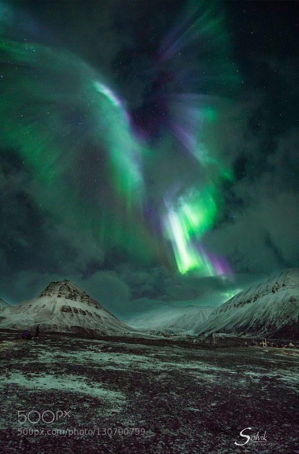 Angel aurora by espencapable #nature