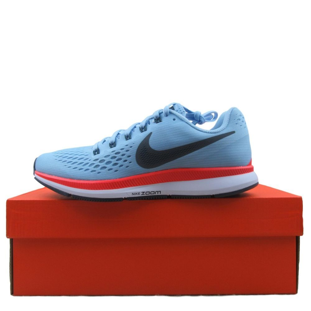 9480ed81cbf7 Nike Womens Air Zoom Pegasus 34 Running Shoes Size 9 Ice Blue 880560 404   Nike  RunningShoes