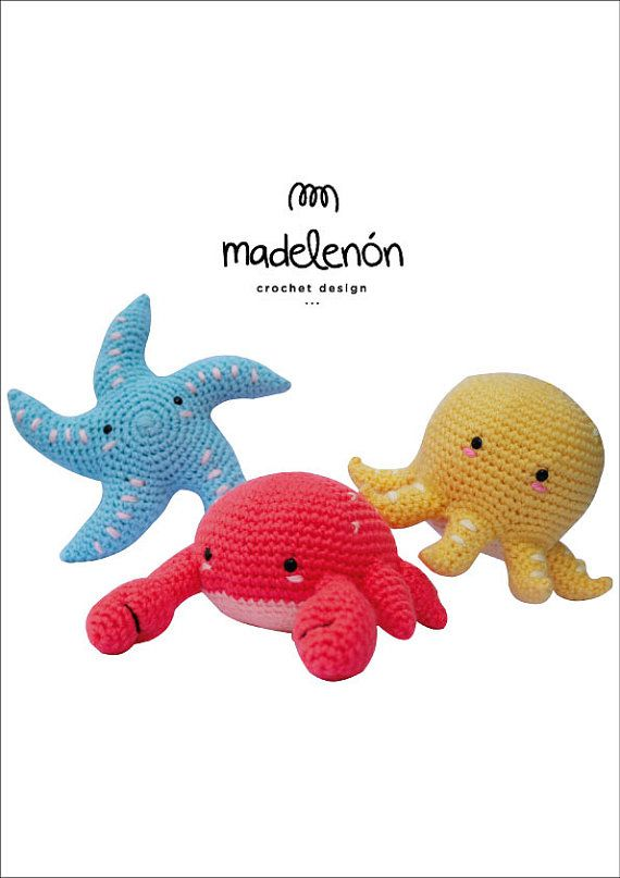 My Sea 3   Tutorial a pagamento   Pinterest   Amigurumi, Crochet and ...